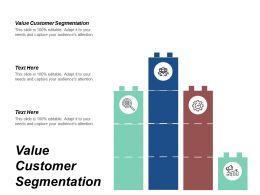 Value Customer Segmentation Ppt Powerpoint Presentation Infographics Show Cpb