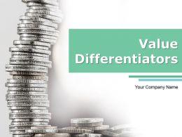 Value Differentiators Powerpoint Presentation Slides