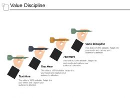 Value Discipline Ppt Powerpoint Presentation Infographic Template Example Introduction Cpb