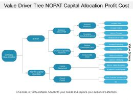 Value Driver Tree Nopat Capital Allocation Profit Cost
