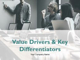 Value Drivers And Key Differentiators Powerpoint Presentation Slides