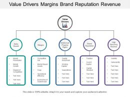 Value Drivers Margins Brand Reputation Revenue