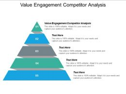 Value Engagement Competitor Analysis Ppt Powerpoint Presentation Deck Cpb