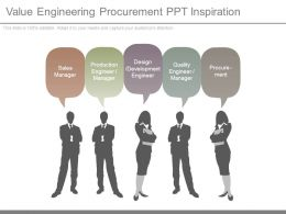 Value Engineering Procurement Ppt Inspiration
