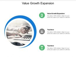 Value Growth Expansion Ppt Powerpoint Presentation Ideas Design Inspiration Cpb
