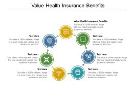 Value Health Insurance Benefits Ppt Powerpoint Presentation Infographics Example Introduction Cpb