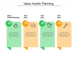 Value Hoshin Planning Ppt Powerpoint Presentation Ideas Tips Cpb