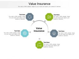 Value Insurance Ppt Powerpoint Presentation Inspiration Elements Cpb