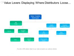 Value Levers Displaying Where Distributors Loose Or Gain Values