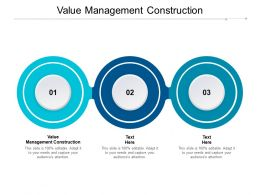 Value Management Construction Ppt Powerpoint Presentation Inspiration Slides Cpb