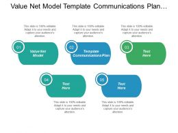 Value Net Model Template Communications Plan Benefits Communication Business Cpb