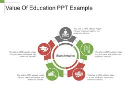 Value Of Education Ppt Example