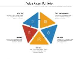 Value Patent Portfolio Ppt Powerpoint Presentation Professional Influencers Cpb