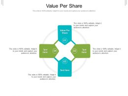 Value Per Share Ppt Powerpoint Presentation Model Designs Cpb