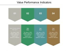 Value Performance Indicators Ppt Powerpoint Presentation Icon Deck Cpb