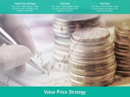 Value Price Strategy Ppt Powerpoint Presentation Model Graphic Tips Cpb