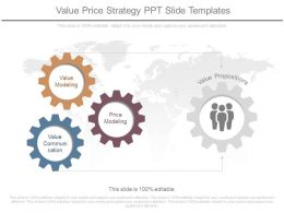 Value Price Strategy Ppt Slide Templates