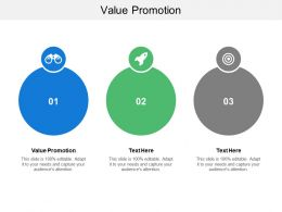 Value Promotion Ppt Powerpoint Presentation Gallery Summary Cpb