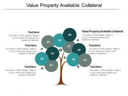 Value Property Available Collateral Ppt Powerpoint Presentation Icon Graphic Tips Cpb