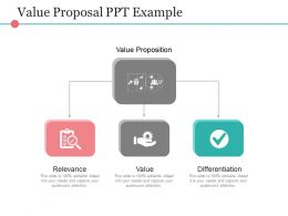 Value Proposal Ppt Example
