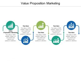 Value Proposition Marketing Ppt Powerpoint Presentation Model Clipart Images Cpb