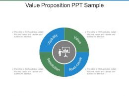 Value Proposition Ppt Sample