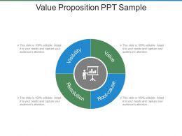 Value Proposition Ppt Sample