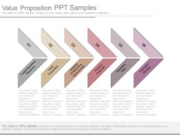 Value Proposition Ppt Samples