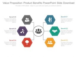 Value Proposition Product Benefits Powerpoint Slide Download