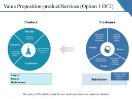 Value Proposition Product Services Powerpoint Slide Images