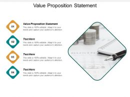 Value Proposition Statement Ppt Powerpoint Presentation Summary Layouts Cpb