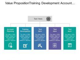 Value Proposition Training Development Account Planning Sales Deployment