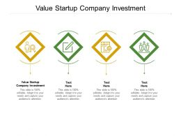 Value Startup Company Investment Ppt Powerpoint Presentation File Gridlines Cpb