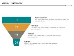 Value Statement Ppt Powerpoint Presentation Gallery Files Cpb