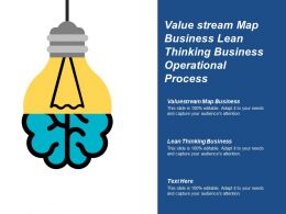 Value Stream Map Business Lean Thinking Business Operational Process Cpb
