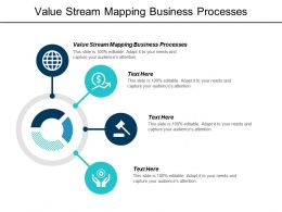Value Stream Mapping Business Processes Ppt Powerpoint Presentation Model Display Cpb