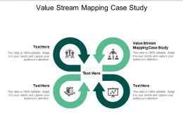Value Stream Mapping Case Study Ppt Powerpoint Presentation Infographics Samples Cpb