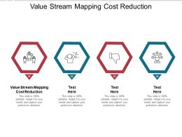 Value Stream Mapping Cost Reduction Ppt Powerpoint Presentation Model Cpb