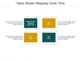 Value Stream Mapping Cycle Time Ppt Powerpoint Presentation Gallery Example Topics Cpb