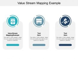 Value Stream Mapping Example Ppt Powerpoint Presentation Show Slides Cpb