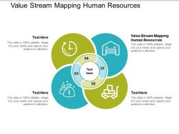 Value Stream Mapping Human Resources Ppt Powerpoint Presentation Portfolio Cpb