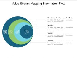 Value Stream Mapping Information Flow Ppt Powerpoint Presentation Infographics Infographics Cpb