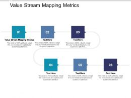 Value Stream Mapping Metrics Ppt Powerpoint Presentation Ideas Graphics Cpb