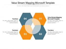 Value Stream Mapping Microsoft Template Ppt Powerpoint Presentation Layout Cpb