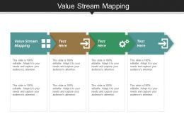 Value Stream Mapping Ppt Slides Information Cpb