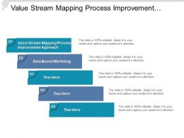 Value Stream Mapping Process Improvement Approach Data Based Marketing Cpb