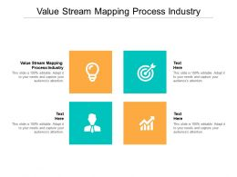 Value Stream Mapping Process Industry Ppt Powerpoint Presentation Inspiration Cpb