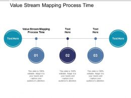 Value Stream Mapping Process Time Ppt Powerpoint Presentation Ideas Graphics Cpb