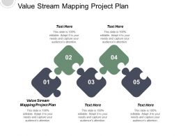 Value Stream Mapping Project Plan Ppt Powerpoint Presentation Infographic Template File Formats Cpb