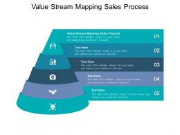 Value Stream Mapping Sales Process Ppt Powerpoint Presentation Outline Design Cpb